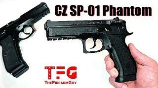 CZ SP-01 Phantom Review - TheFireArmGuy