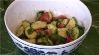 Tomato Salad Recipes : Zucchini Tomato Salad