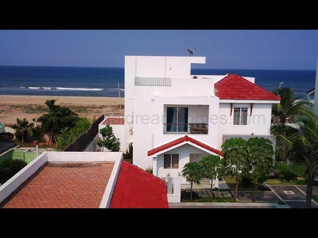 3 BHK Gated Villa with Direct Sea View in ECR for Rent | ChennaiDreamHomes.com