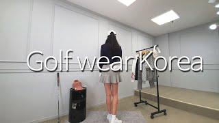 Golf wear Korea~오랜만에 골프웨어 촬영했지…