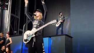Madonna - Turn Up The Radio live during Soundcheck, Gothenburg 2012
