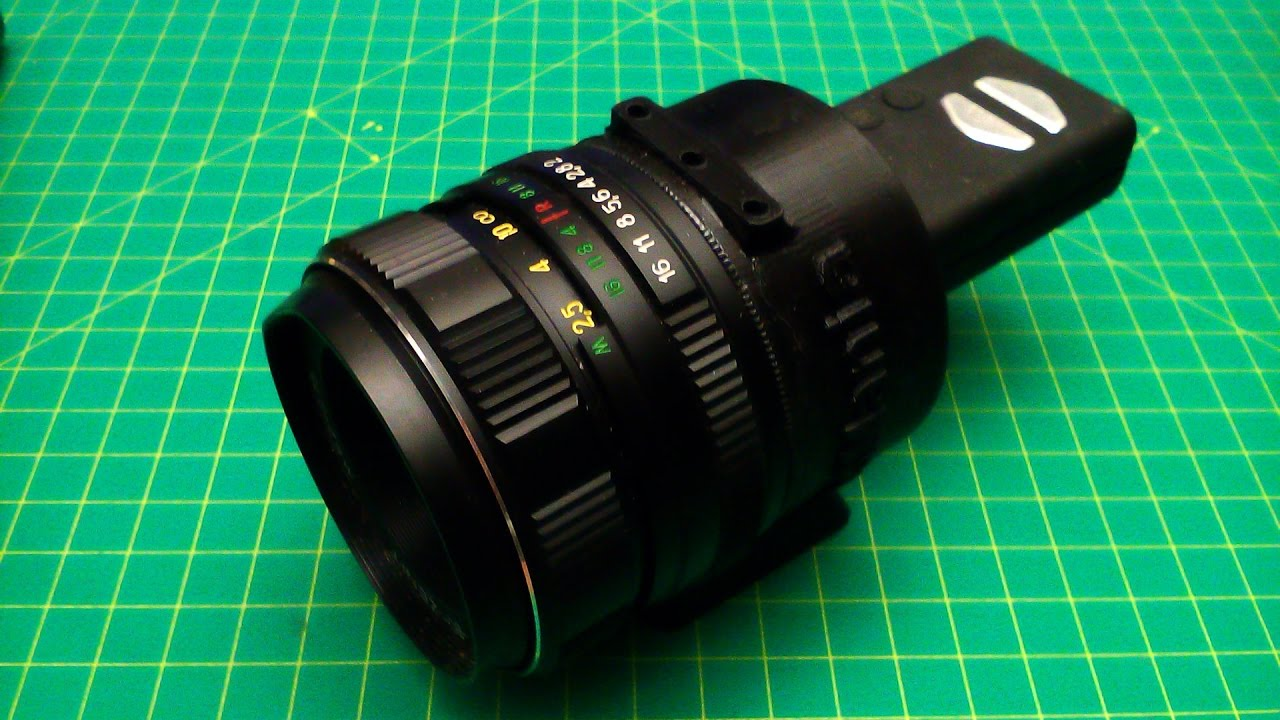 Lens Adapter For Mobius Camera Diy Telescope Youtube