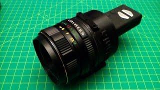 Lens adapter for Mobius camera   DIY telescope