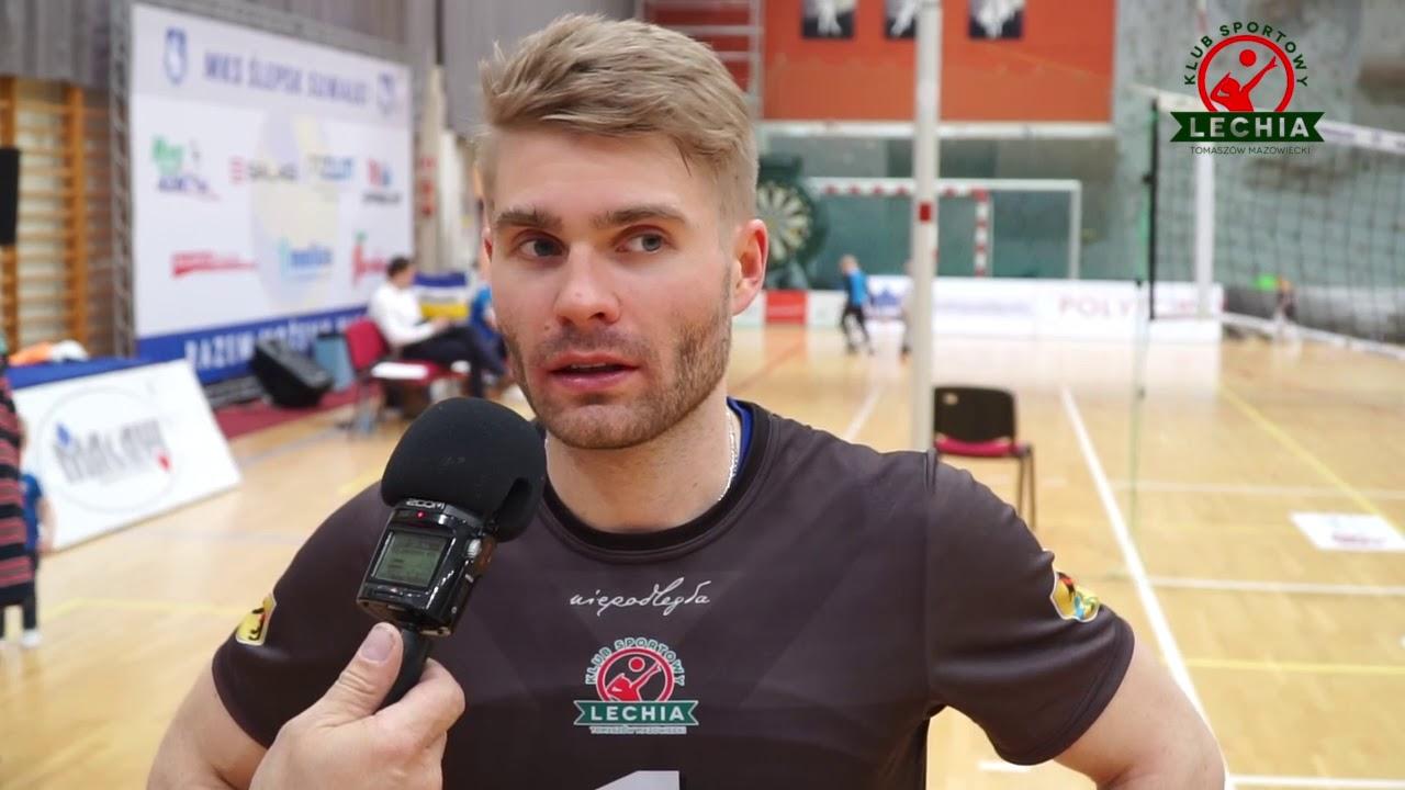 Libero Adrian Mihułka po meczu nr 4 w Suwałkach