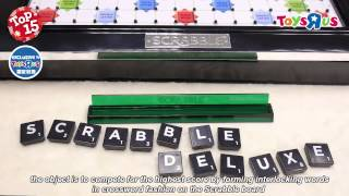 2014 Toys R Us TOP 15 X'mas Toys – Scrabble Deluxe/ 2014 玩具