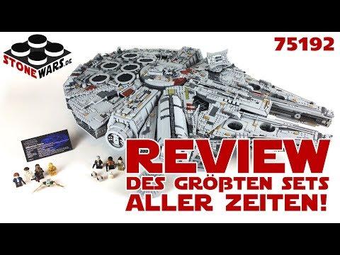UCS Millennium Falcon Review: Größtes LEGO Set aller Zeiten!