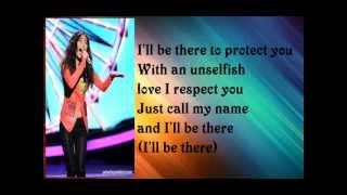 Download lagu Jessica Sanchez - I'll Be There with Lyrics