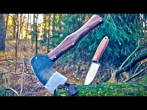 Trollsky knifemaking - bushcraft set