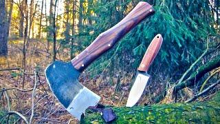 Trollsky knifemaking - bushcraft set