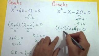 2. Dereceden Denklemler 1 Şenol Hoca Matematik