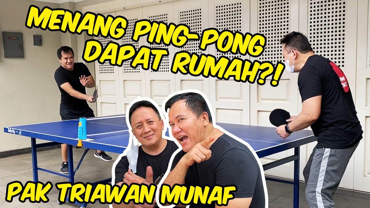 MENANG PING PONG DAPET RUMAH DI PONDOK INDAH??!