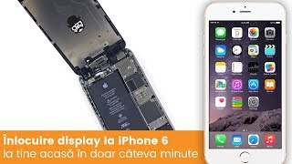 Inlocuire display iPhone 6 in doar cateva minute