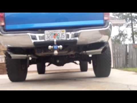 Ford Ranger Exhaust Tip >> Toyota Tacoma True Dual Exhaust - YouTube