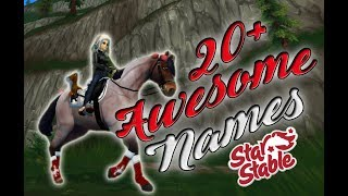🎀 Awesome Horse Name Ideas For Star Stable!