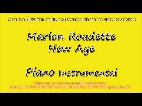 Marlon Roudette - New Age (Piano Instrumental) Karaoke