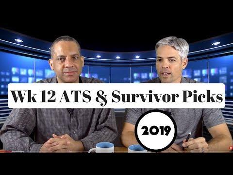 NFL Week 12 ATS And Survivor Pool Picks