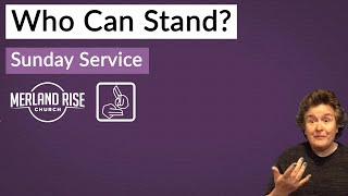 Who Can Stand? - Richard Powell - 17th October 2021 - MRC Live with BSL