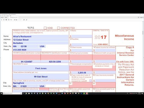 How To Electronically File IRS Form 1099-MISC