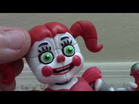 "FNAF SL ""Walgreen's"" Exclusive Glow in the Dark Circus Baby Action Figure"
