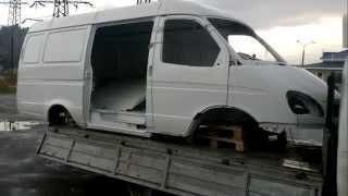 Кузов ГАЗ 2705 ГАЗель 3-х местный в металле окрашенный