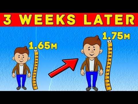 7 TRICKS TO GROW TALLER FAST
