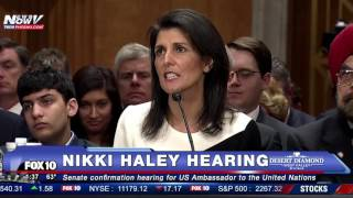 FNN: Nikki Haley Says Ther Will Be NO Muslim Ban, DEFENDS Trump