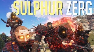 Rust | SULPHUR QUARRY ZERG (Duo Series)