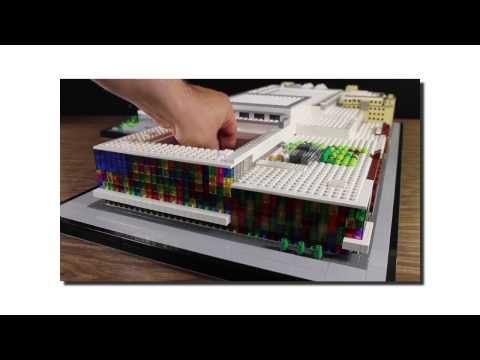 Palais des congrès de Montréal in LEGO bricks - The Making Of