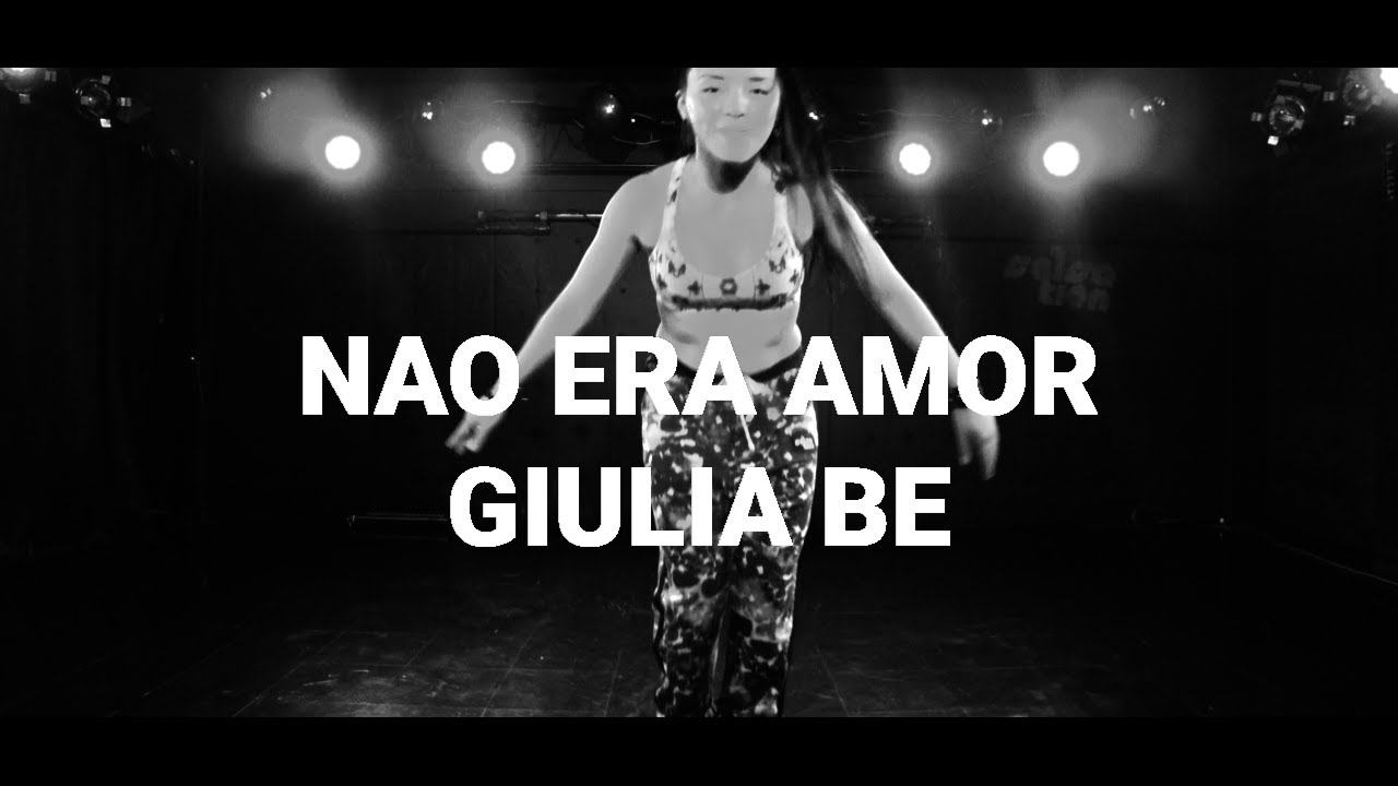 (não) era amor - Giulia Be / SALSATION®︎ CHOREOGRAPHY by SMT GRACE