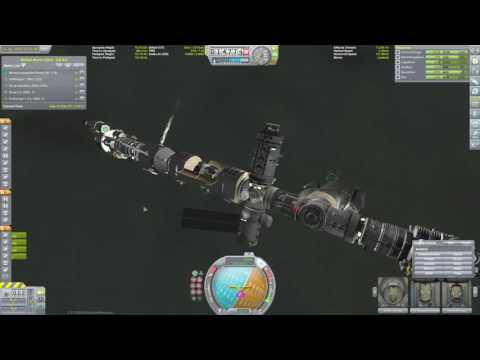 KSP Minmus orbit refuel station