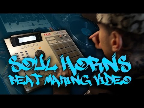 Classic Hip Hop Soul Sample Vocal Horn Chops Beat Making Video Old School 90s