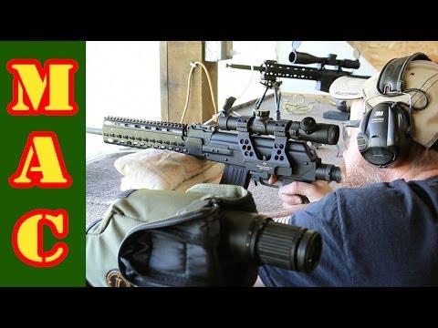 Shooting long range with a 7.62x39 AK