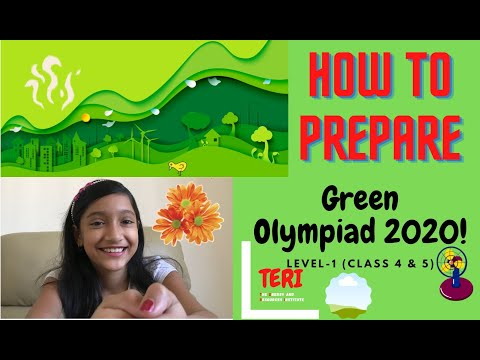 What is TERI Green Olympiad   How to Register Green Olympiad   How to Prepare   Green Olympiad Q & A