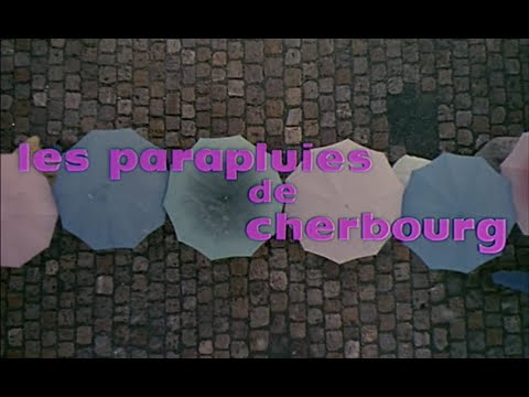 The Umbrellas of Cherbourg: opening credits