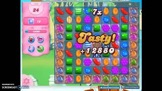 Candy Crush Level 1326 Audio Talkthrough, 2 Stars 0 Boosters