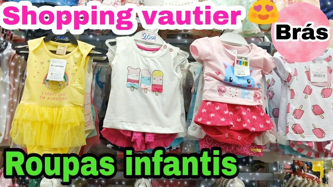 Brás - shopping Vautier   Roupas infantis - YouTube cb2b0e9f52915