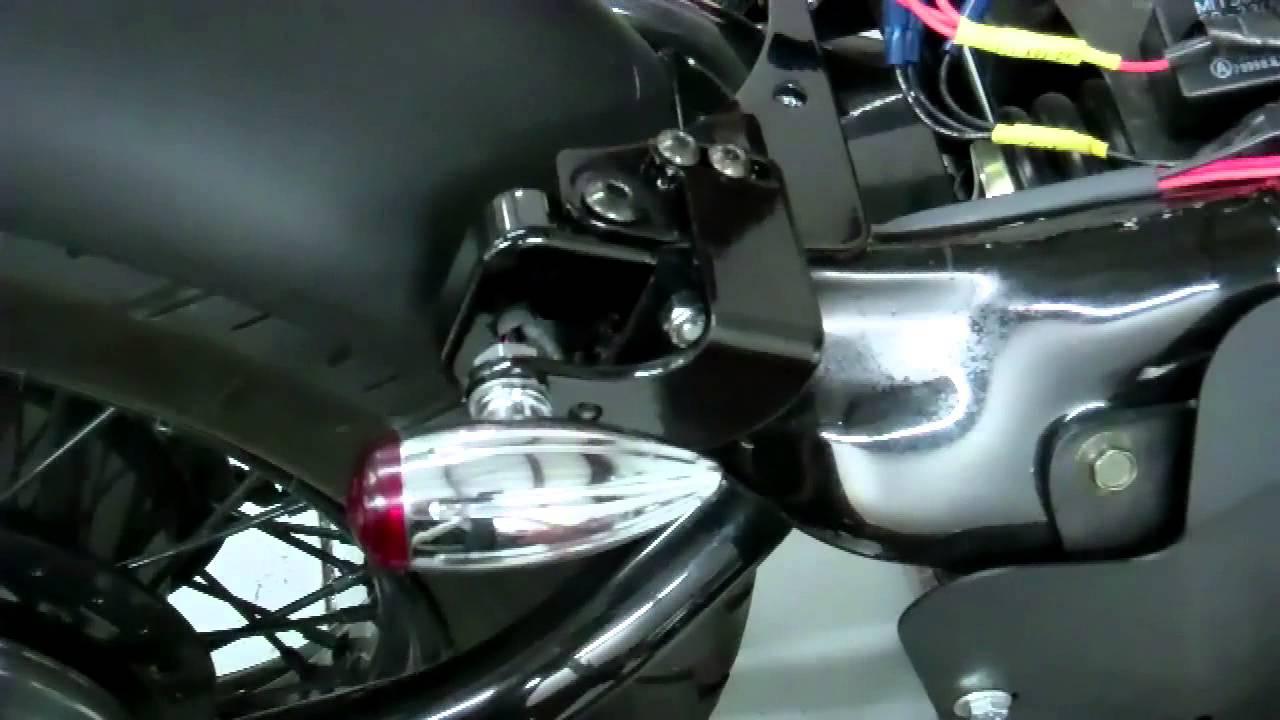 Honda Shadow VLX 600400 Rear Signal Brackets  YouTube