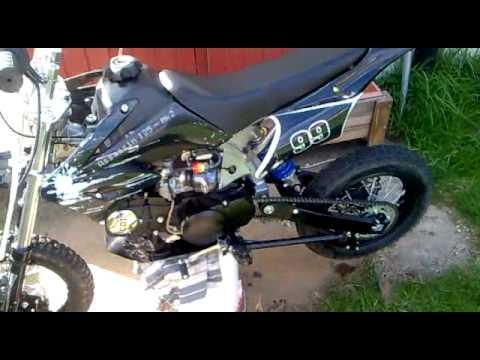 Pit Bike Akuma Assassin 125cc Youtube