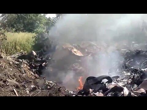 Донбасс, Сбит самолёт