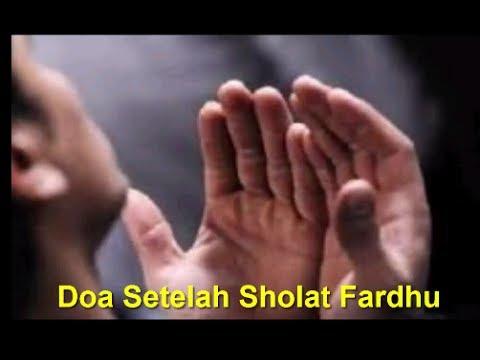 Bacaan Doa Setelah Sholat Fardhu Singkat Tulisan Arab