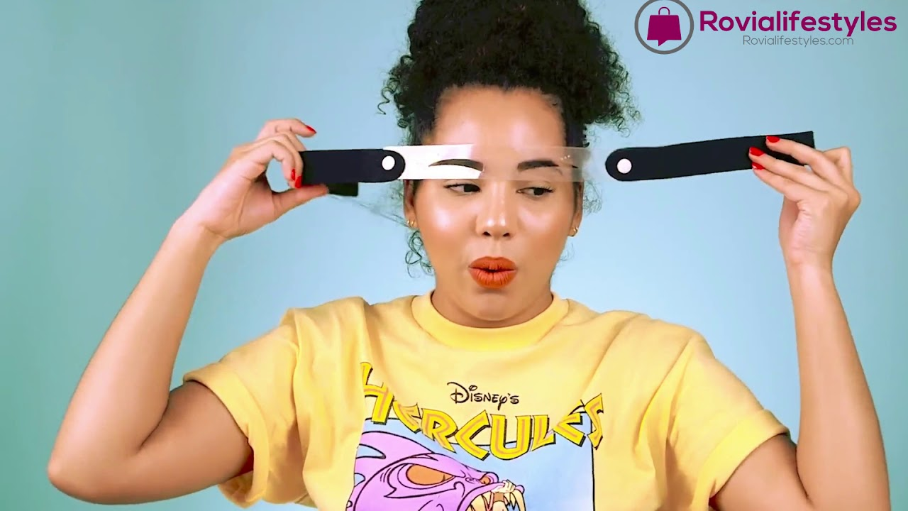 Create Perfect Eyebrows, Easily - YouTube