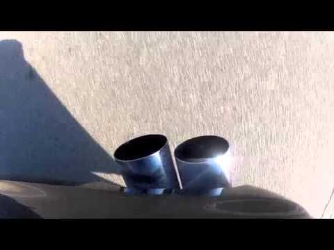BMW 330i Performance Exhaust  YouTube