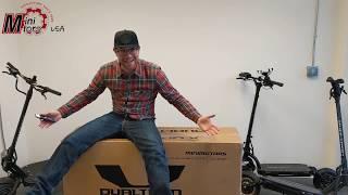 MiniMotors Dualtron X   Unboxing