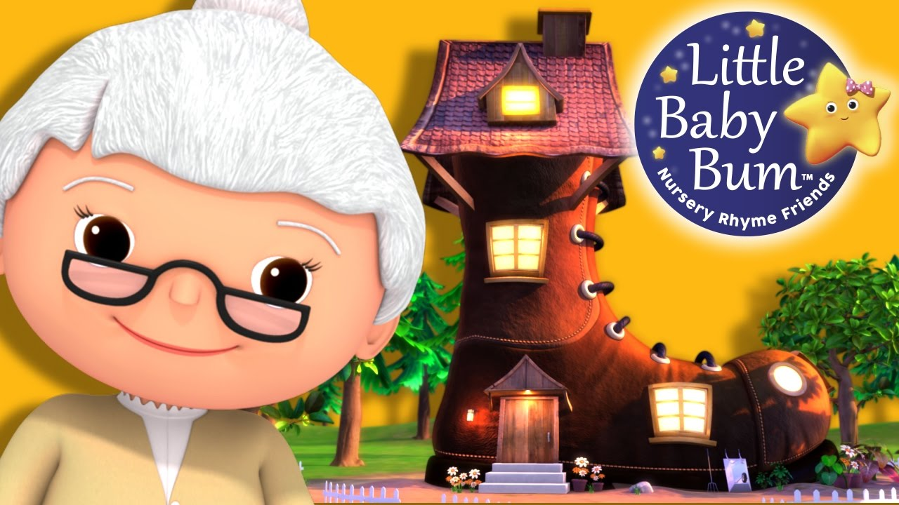 Little Baby Bum Old Woman Who Lived In A Shoe Nursery Rhymes For