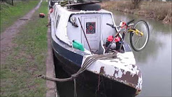 Mooring at Wootton rivers, Wiltshire