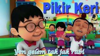 Lagu Pikir Keri - Nella Kharisma | Unofficial Music Video Versi Upin Ipin Parody Full Lirik