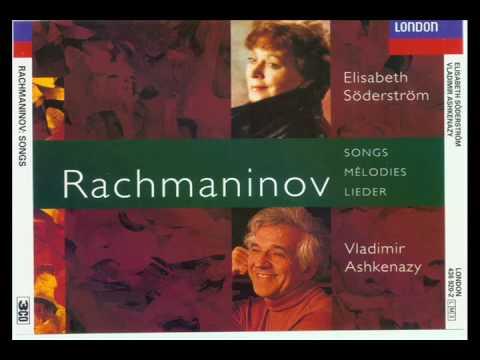 Rachmaninov Lieder Fifteen Songs Op 26 (11-12-13)