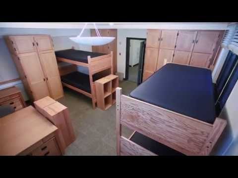 Sample UC Berkeley Standard Quad Room (unoccupied)