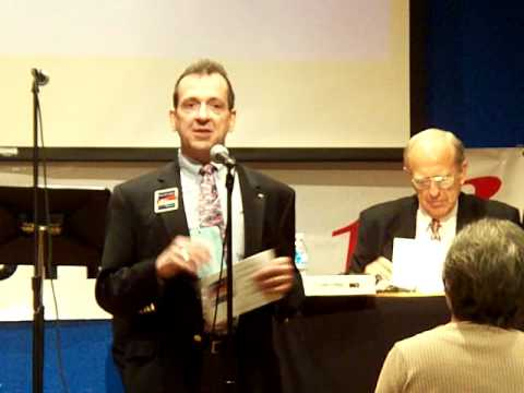 Paul Simpson presents candidacy for Harris County Republican chair