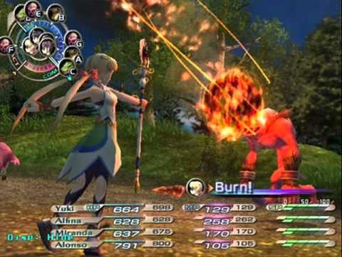 Grandia 3 Ost Attack with Conviction!!- Battle theme